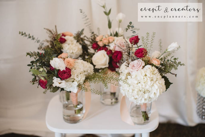 Red Toned Centerpiece