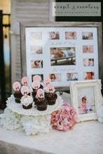 Load image into Gallery viewer, Rose Birthday Photo & Event Table 1St Party