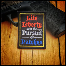 Life Liberty Patches