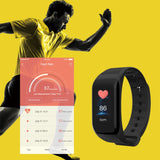 Blood Pressure Heart Rate Smart Watch Bracelet With Sleep Monitor | Designer Dresses & Accessories | My Lebaz