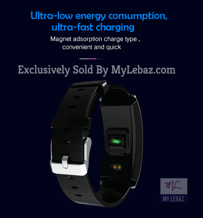 FitBand™ Professional Blood Pressure Smart Watch and Heart Rate Monitor | Designer Dresses & Accessories | My Lebaz
