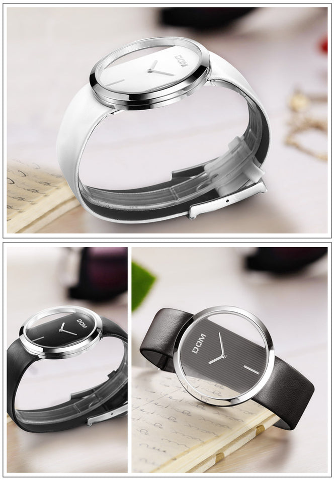 Designer Hollow Transparent Watch | Designer Dresses & Accessories | My Lebaz
