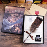 Harry Potter Quill Feather Pen With Wax Sealing And Diary With Admission Letter Gift Set | Designer Dresses & Accessories | My Lebaz