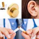 Miracle Anti-Smoking Magnetic Patch Ear Magnet Stop Cigarettes Smoke Quit | Designer Dresses & Accessories | My Lebaz