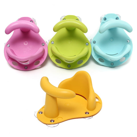 Baby Bath Tub Ring Seat Infant Toddler Anti Slip Shower Security Safety Chair
