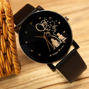 Lovers Special Black Fashion Luxury Women Watch | Designer Dresses & Accessories | My Lebaz