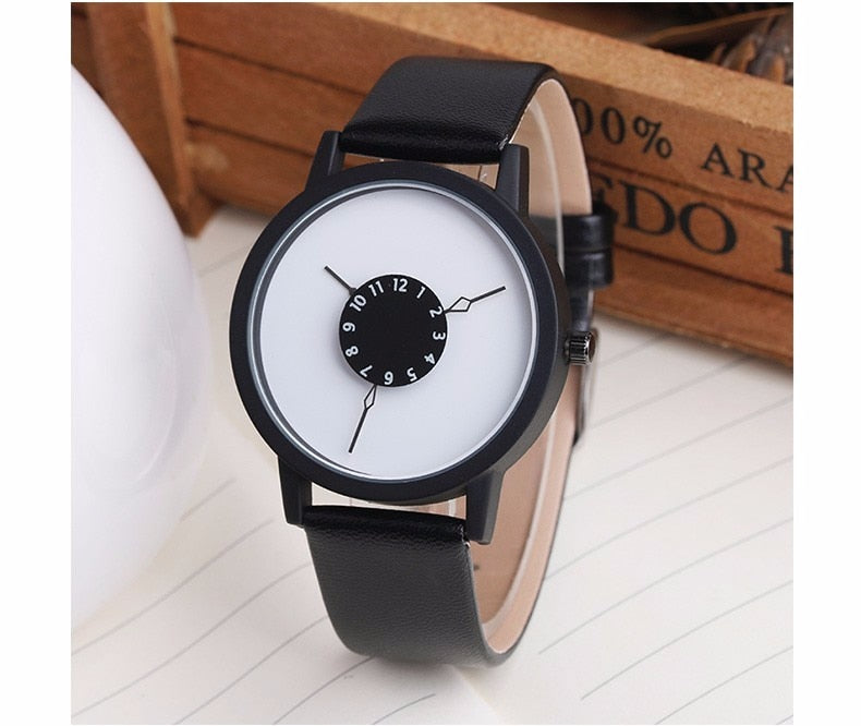 Minimalist Genuine Leather Unique Designer Luxury Women Watch | Designer Dresses & Accessories | My Lebaz