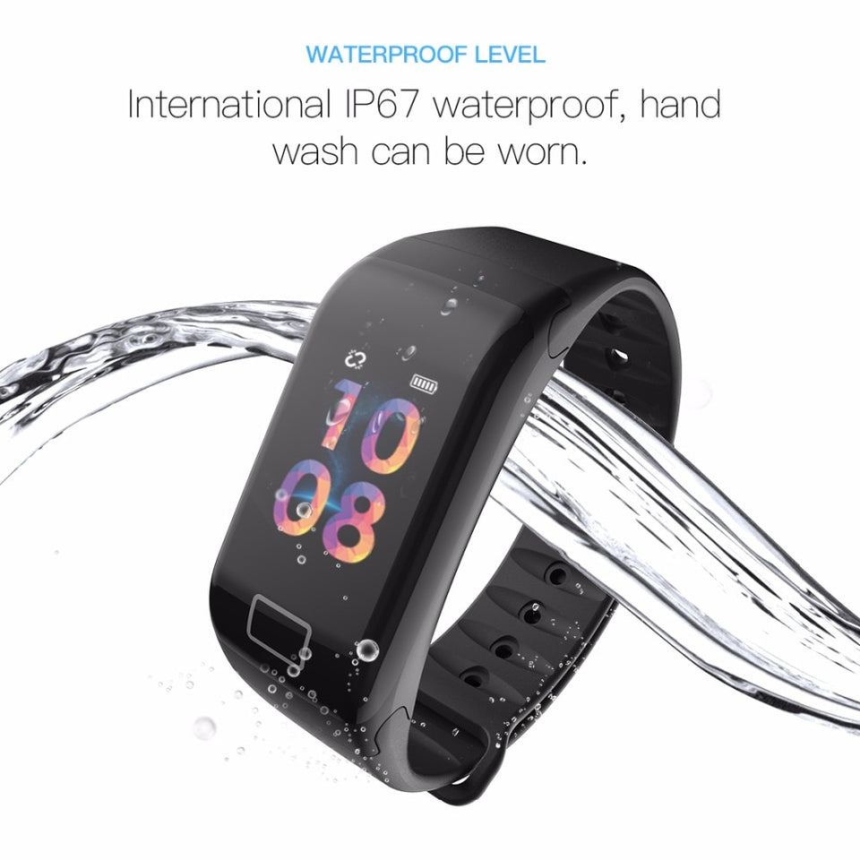 FitBand™ Blood Pressure Heart Rate Smart Watch Bracelet With Sleep Monitor | Designer Dresses & Accessories | My Lebaz
