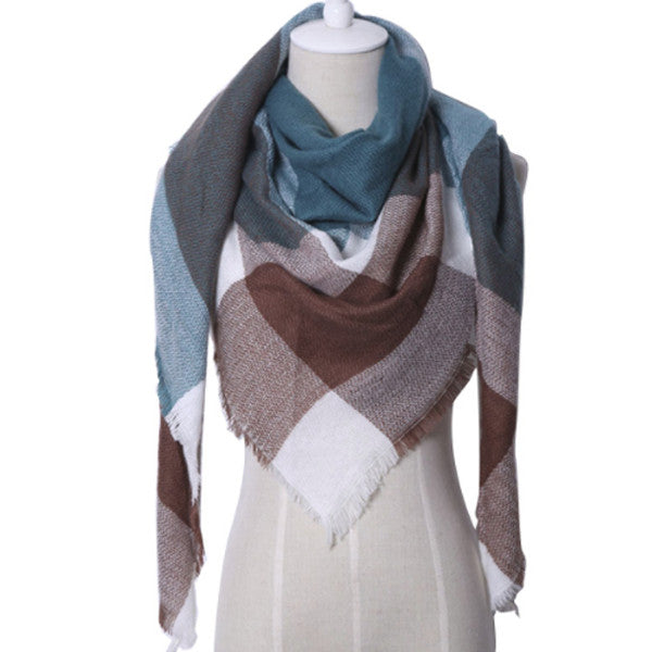Beautiful Cashmere Blanket Scarf | Designer Dresses & Accessories | My Lebaz