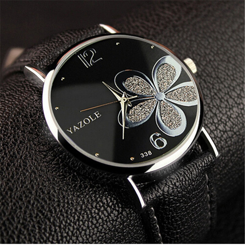 Montre Flowers Swiss Quartz Women Watch | Designer Dresses & Accessories | My Lebaz
