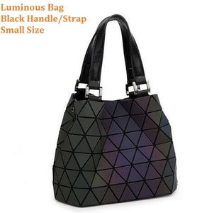 Multiple-Style Glow in Dark Premium Quality Designer Luminous Geometric Shoulder Handbag For Women | Designer Dresses & Accessories | My Lebaz