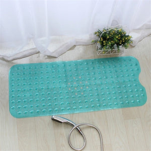 Anti-skid Bath Mat Soft Bathroom Massage Mat Suction Cup Non-slip Bathtub Carpet | Designer Dresses & Accessories | My Lebaz