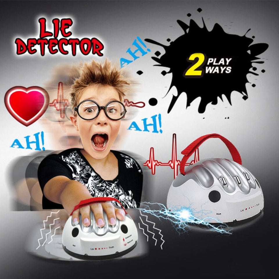 Lie Detector Device Funny Polygraph Shocking Liar Detector Game | Designer Dresses & Accessories | My Lebaz