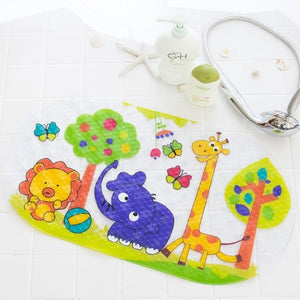 High Quality Cartoon Animal Shape PVC Non- Slip Bath Mat | Designer Dresses & Accessories | My Lebaz