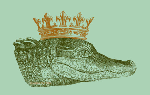 King Gator Flag (Sage)