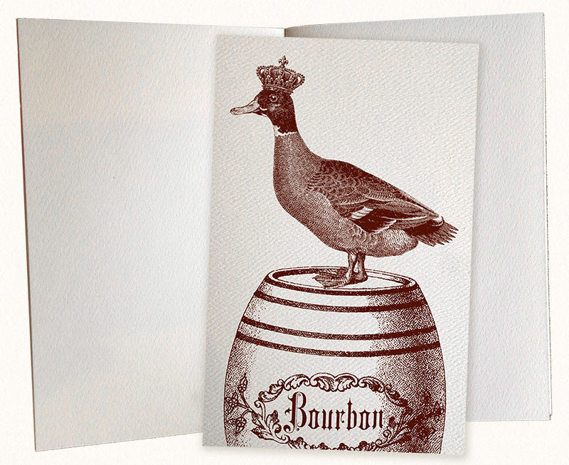 Drunk Duck Pocket Journal