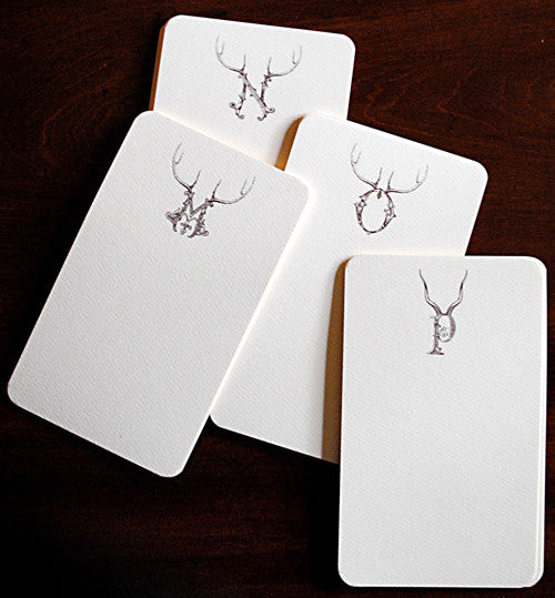 Stag Alphabet Thinking Cards