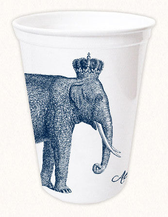 Royal Elephants 12oz Thermoform Cup