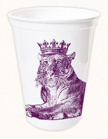 Royal Tiger Thermoform Cup by Alexa Pulitzer