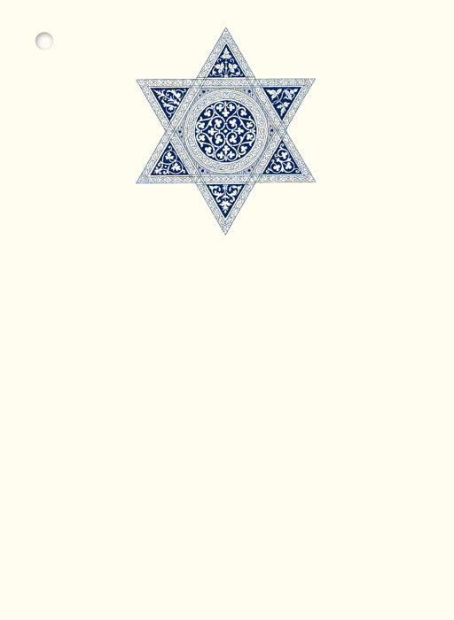 Star of David Gift Tags