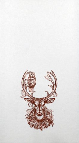 Christmas Deer Hand Towels