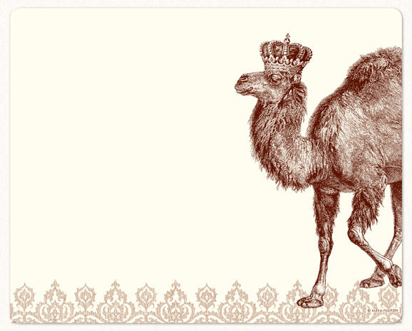 Royal Camel Mousepad Notepad