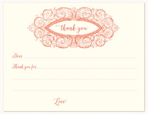 Thank You With Love Note
