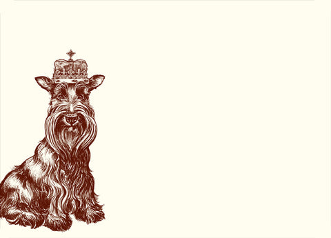 Royal Scottish Terrier A6 Note