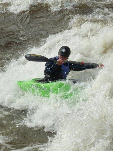 WHITEWATER KAYAKING 201 IN RVA WITH CHESTERFIELD PARKS & REC