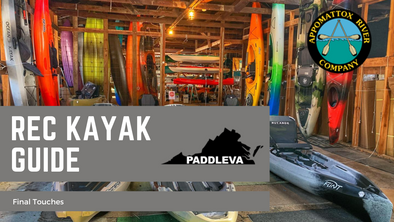 Recreational Kayak Buying Guide: The Final Touches