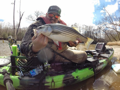 RVA Shad Run, Striper Surprise, Double L Duo, and Tactical Tips from William: It's the VA Spring Kayak Fishing Edition