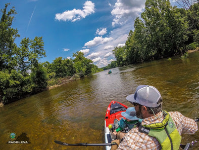 FAMILY PADDLING TIPS, ON AMERICA'S FOUNDING RIVER, THE JAMES RIVER