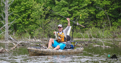 Kayak Fishing with Jackson Kayak's Drew Gregory : The Briery bend