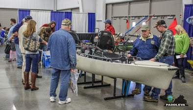Kayak Fishing at the Richmond Fishing Expo 2015 - PaddleVa Recap