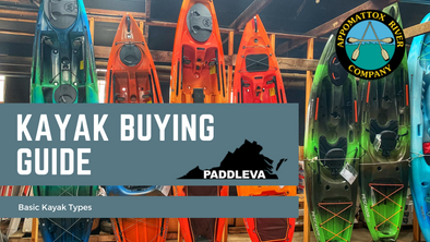 Kayak Buying Guide: Basic Kayak Types