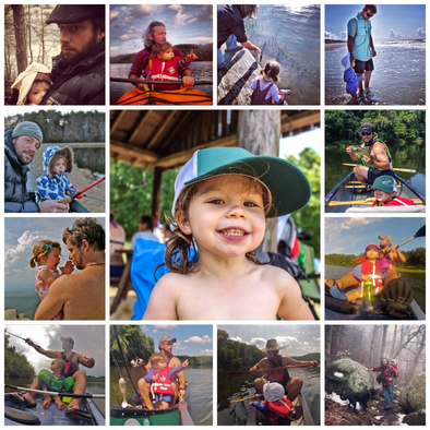 Canoeing, Kayaking and Fishing With Your Kids: Set the Stage