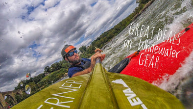Fall Whitewater Season is here! Ten Great Deals on Kayaking Gear
