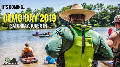 PaddleVa Big Demo Day 2019! Try Out Kayaks, Canoes, SUPs, etc
