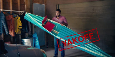 FOR THE BEST KAYAKS AND CANOES : DON'T GET YAKKED OFF