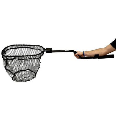"Yakattack Leverage Landing Net, 12"" X 20"" Hoop With Foam Extension"
