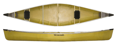 Wenonah Kingfisher 16' Canoe - Ultra-Light With Kevlar