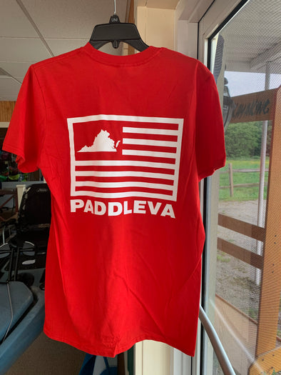 PaddleVa Flag S/S Shirt