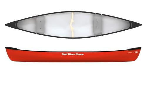 Mad River Journey 167 Canoe - Rotomolded Seats