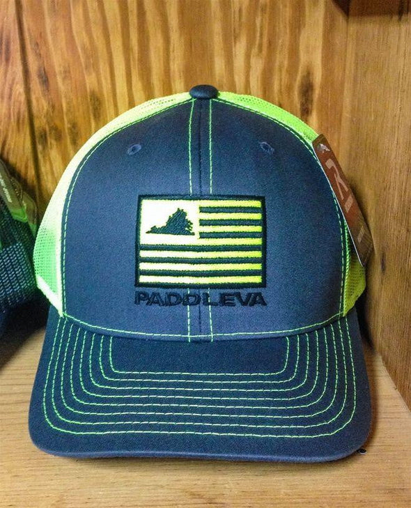 PaddleVA Flag Cap with Pre-Curved Bill