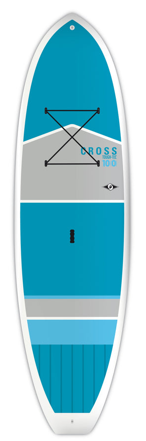 "BIC 10'0"" Cross Tough SUP Board - Blue/Gray"