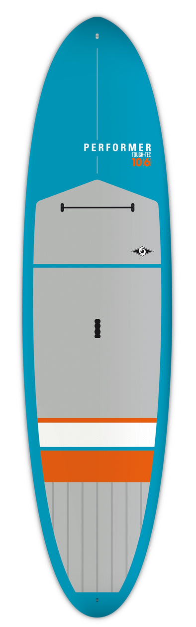"BIC 10'6"" Performer Tough SUP Board - Blue/Gray/Orange"