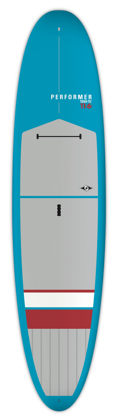 "BIC 11'6"" Performer Tough SUP Board - Blue/Red/Gray"