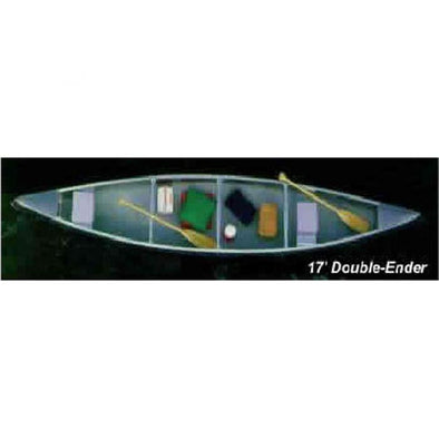 Grumman 17' Double End .050 Canoe with shoe keel