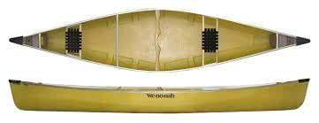 Wenonah Kingfisher 16' Canoe - Black Alum Trim Ultra-Light With Kevlar