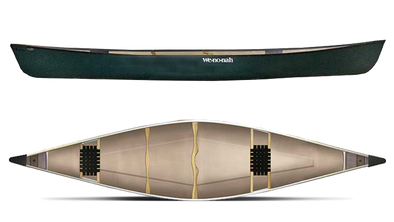 Wenonah Kingfisher 16' Canoe - Flex-Core With Kevlar